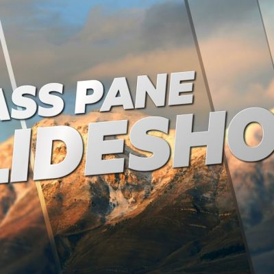 Glass Pane Slide Show – Adobe After Effects tutorial (Sponsored By Videoblocks)