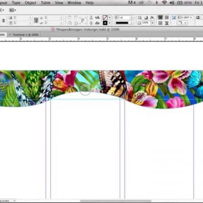 How To Create A Custom Shape In Indesign Using The Pen Tool
