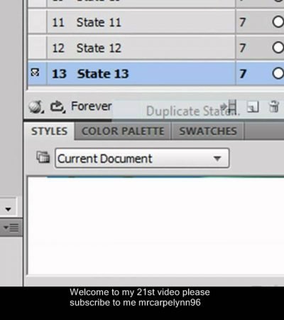 How To Make Animated Text Useing Adobe Fireworks
