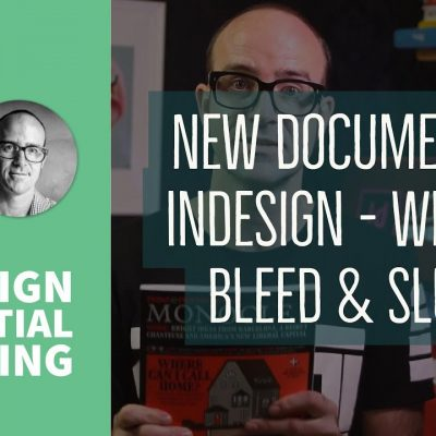 New document in InDesign – what is bleed & slug? – InDesign Essential Training [6/76]