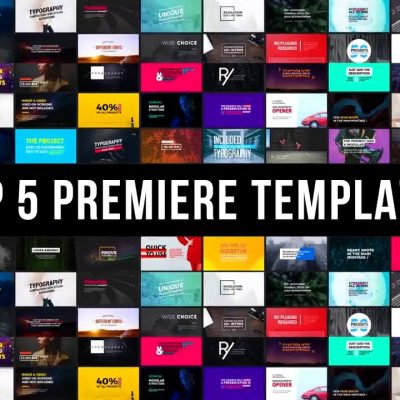 TOP 5 Best Templates For Adobe Premiere Pro