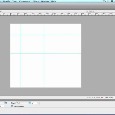 Adobe Fireworks – Using Guides
