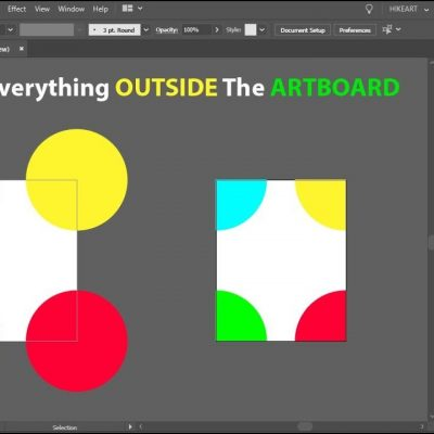 How to Hide Everything Outside the Artboard in Adobe Illustrator